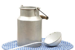 Milk can Royalty Free Stock Photo