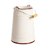 Milk can isolated Royalty Free Stock Photography