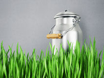 Milk can Stock Photo