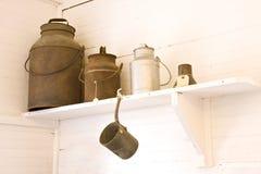 Milk Cans stock photos