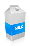 Milk carton Royalty Free Stock Photos