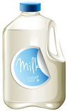 Milk in a carton Stock Image