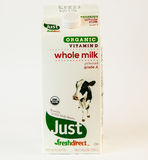 Milk carton royalty free stock photo