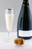 Milk champagne Stock Photo