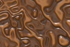 Milk chocolate background. Abstract milk chocolate swirls background Stock Photography