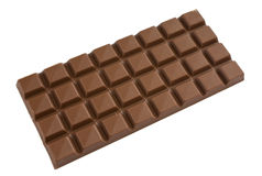 Milk chocolate bar Stock Photos