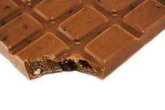 Milk chocolate bar Royalty Free Stock Photos