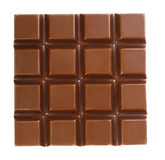 Milk chocolate bar Royalty Free Stock Images
