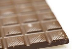 Milk chocolate bar Stock Photo