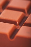 Milk chocolate bar Royalty Free Stock Photo