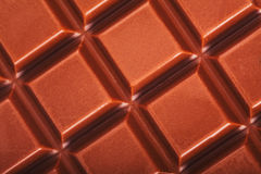 Milk chocolate bar Stock Photo
