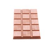 Milk chocolate bar. Royalty Free Stock Photo