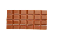 Milk chocolate bar Stock Photography