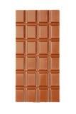 Milk chocolate bar Stock Images
