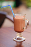 Milk chocolate beverage Royalty Free Stock Photography