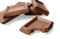 Milk chocolate Royalty Free Stock Image