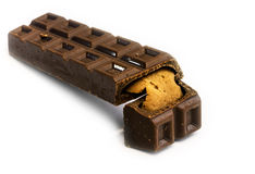 Milk chocolate Stock Images