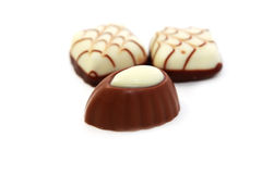 Milk chocolate candy Royalty Free Stock Photography