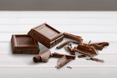 Milk Chocolate Royalty Free Stock Photo