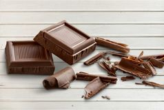 Milk Chocolate Royalty Free Stock Photography