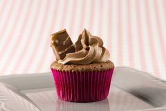 Milk Chocolate cupcakes, delicious and yummy Mars and Milk chocolate cupcake. Mars & Chocolate cupcakes, delicious and yummy Mars and Milk chocolate cupcakes royalty free stock photo