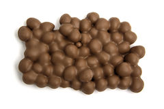 Milk chocolate with filbert nuts. Stock Images
