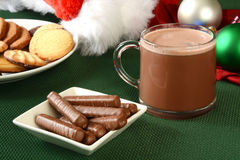 Milk chocolate orange sticks Royalty Free Stock Images
