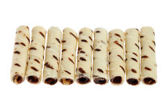 Milk Chocolate Scroll Royalty Free Stock Image