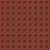 Milk chocolate seamless pattern Royalty Free Stock Image