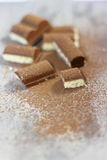 Milk chocolate Stock Photography