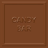 Milk Chocolate Square Royalty Free Stock Images