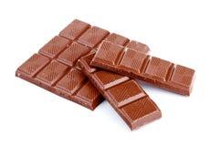 Milk chocolate sticks Royalty Free Stock Photography