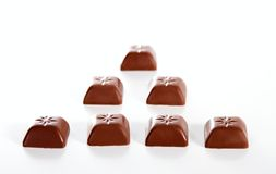 Milk chocolate Royalty Free Stock Images