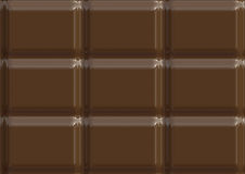 Milk chocolate texture illustration Royalty Free Stock Photos