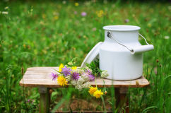 Milk churn Stock Images