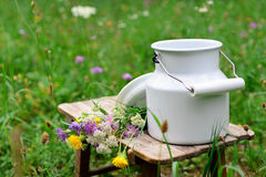 Milk churn Stock Photos