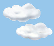 MILK CLOUD Royalty Free Stock Images