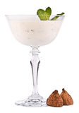 The milk cocktail Royalty Free Stock Image
