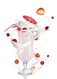 Milk cocktail Stock Photos