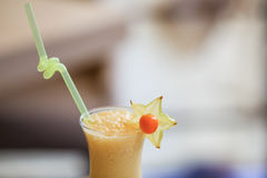 Milk cocktail Royalty Free Stock Photo