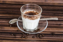 Milk with cocoa Stock Photography
