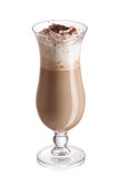 Milk and coffee cocktail royalty free stock photography