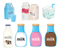 Milk collection Stock Image