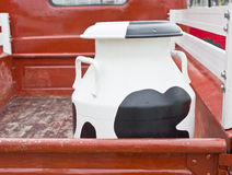 Milk Container. Royalty Free Stock Photos