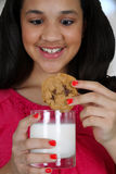 Milk and Cookie Royalty Free Stock Photos