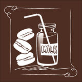 Milk & cookies Royalty Free Stock Photography