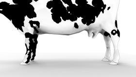 Milk cows Animal Farmer and Background. / Illustration Art Concept vector illustration