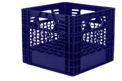 Milk crate Stock Photos