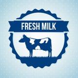Milk design Stock Photos