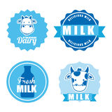 Milk design Royalty Free Stock Photos